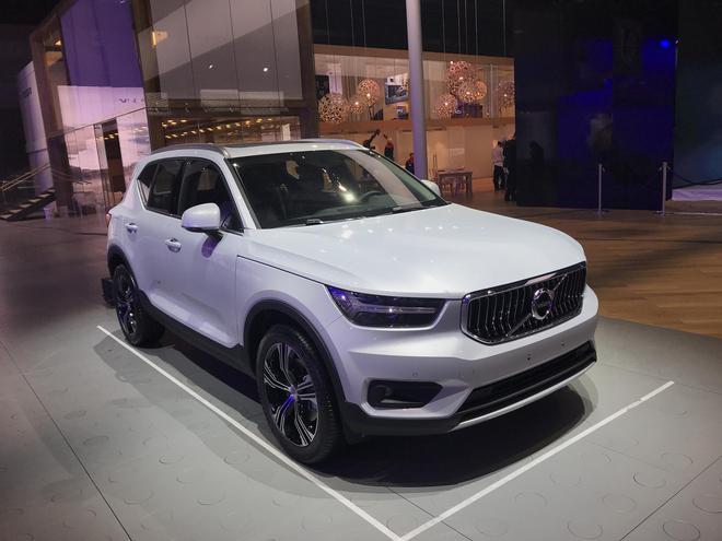 2019上海车展探馆:国产沃尔沃XC40 汽车殿堂