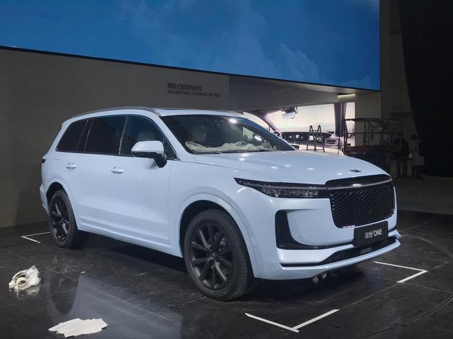 2019上海车展探馆:理想ONE
