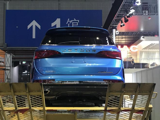 2019上海车展探馆:捷途 X95 汽车殿堂