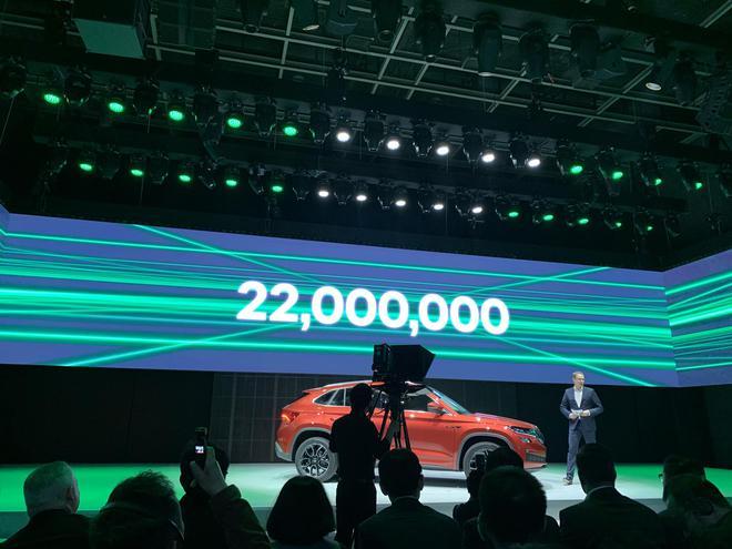 第2200万辆斯柯达汽车