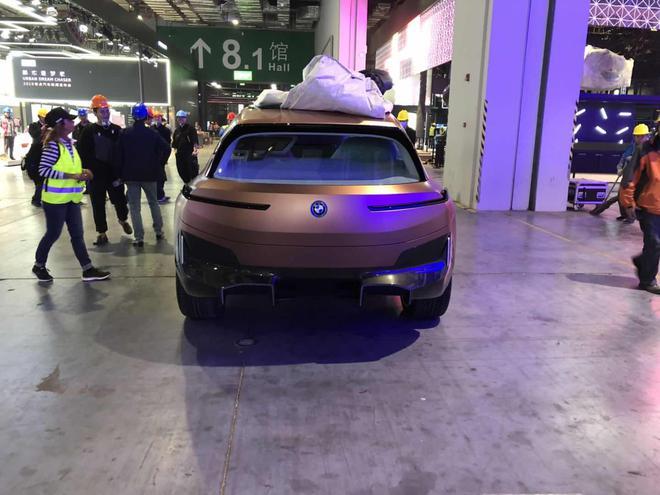 2019上海车展探馆:宝马Vision iNEXT 概念车
