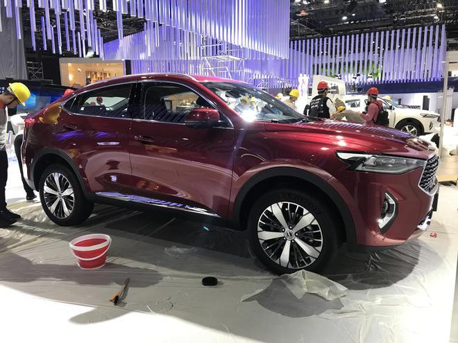 2019上海车展探馆:轿跑SUV哈弗F7x