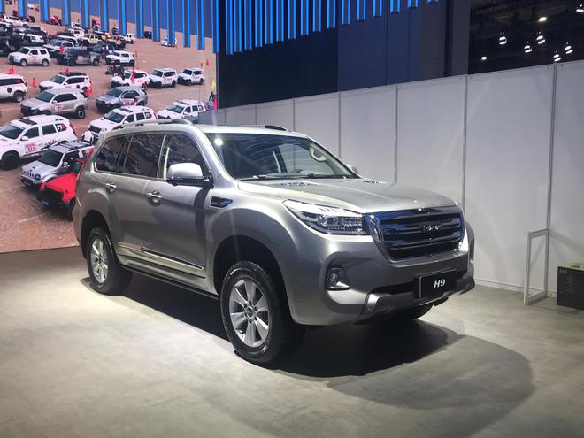 2019上海车展探馆:新款哈弗H9