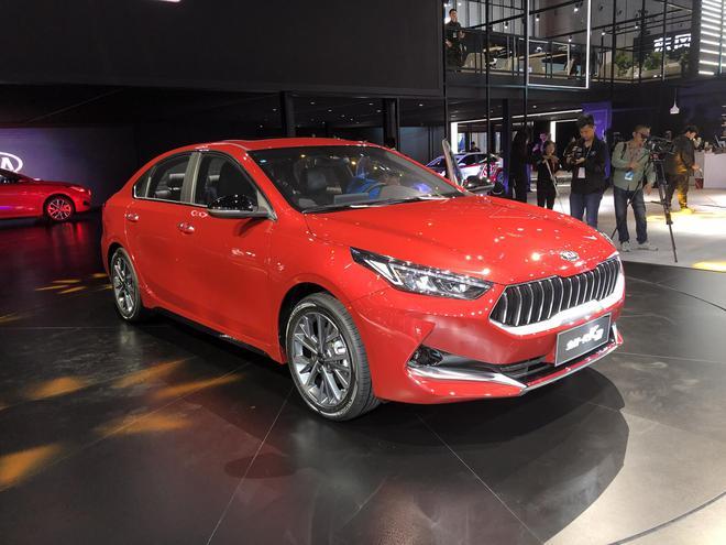 2019上海车展:全新一代起亚K3正式发布