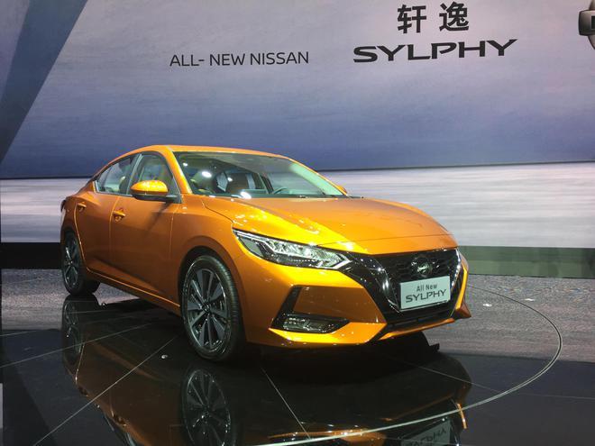2019上海车展:全新一代轩逸正式首发