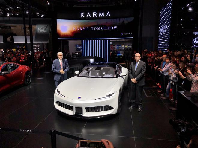 2019上海车展:Karma三款车型亮相