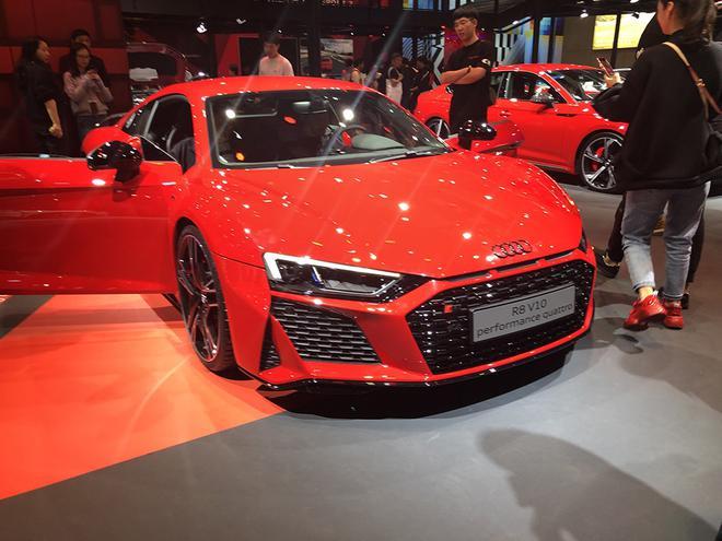 2019上海车展:新款R8 V10 performance