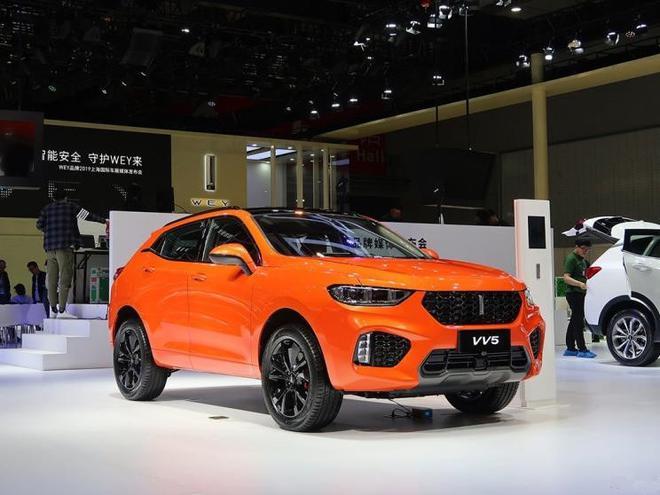 WEY VV5 1.5T倾橙版启动预售 限量500台