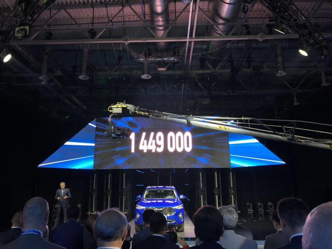 哈弗F7海外版俄罗斯上市 售144.9万卢布