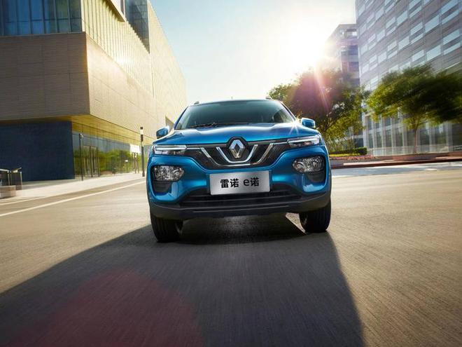 雷诺电动车K-ZE公布中文名为e诺 将于9月上市
