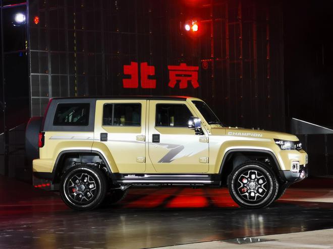 全新北京BJ40家族上市 售16.49-20.49万元