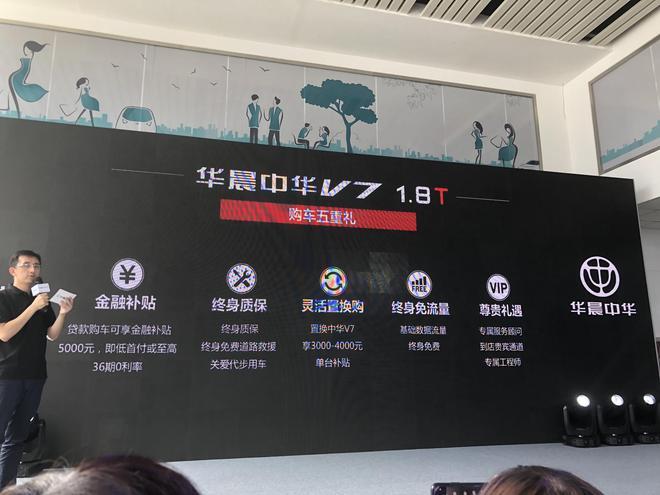 华晨中华V7 1.8T运动版上市 售价12.49-15.99万元