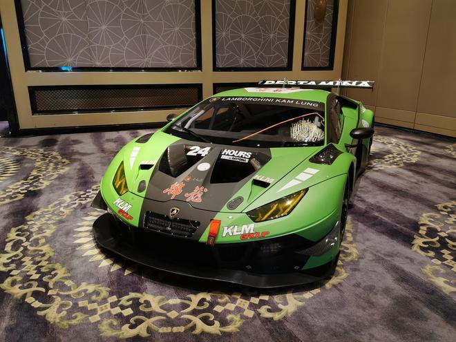 2019成都车展:兰博基尼Huracan GT3 EVO亮相