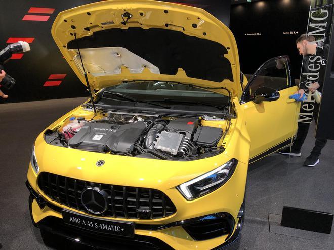 2019法兰克福车展:奔驰全新AMG A45 S将亮相