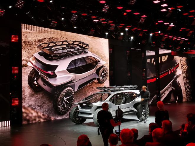 2019法兰克福车展:奥迪 AI:Trail发布