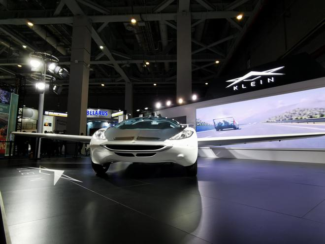 2019进博会:KLEIN Aircar飞行汽车首发