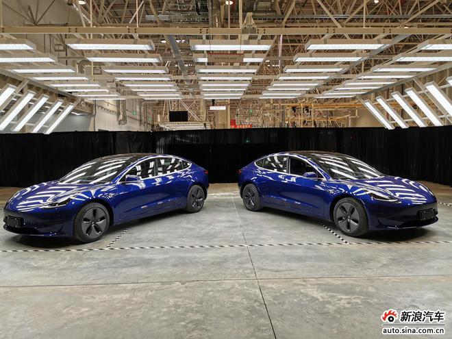国产特斯拉Model 3正式亮相 售价35.58万元