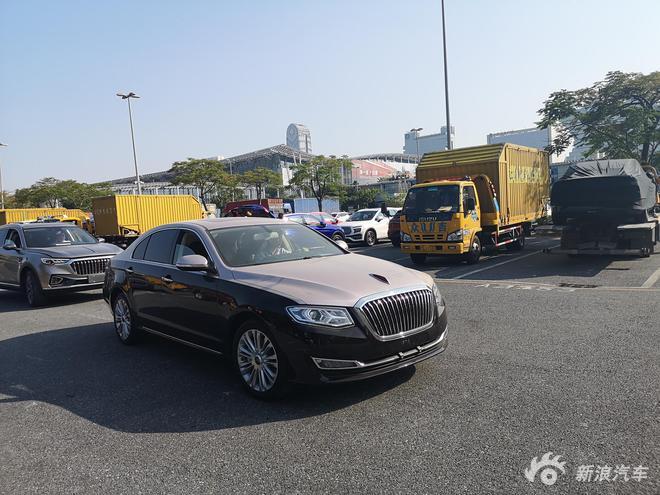 2019广州车展探馆:红旗L5/H7双色定制版亮相