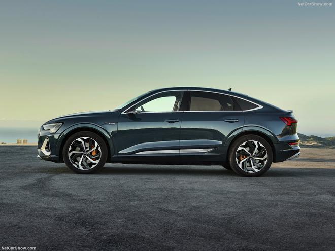旗下第二款纯电动车型 奥迪e-tron Sportback首发