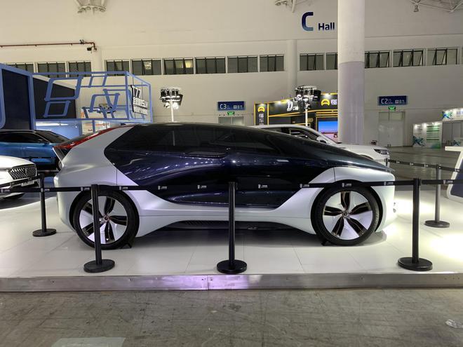 2020海口新能源车展探馆:奔腾E² Concept概念车