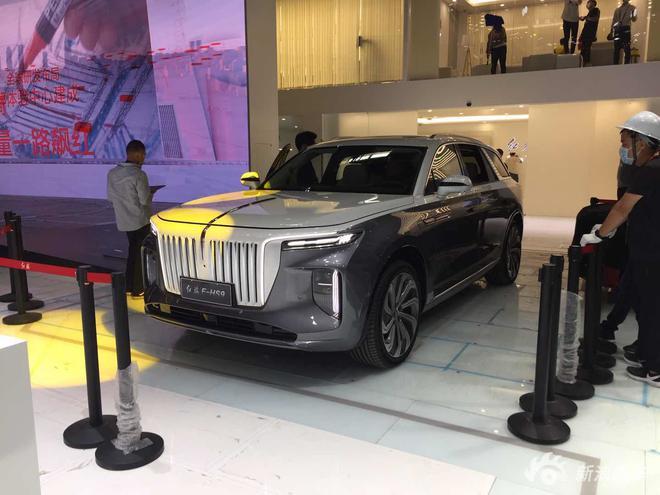 2020北京车展探馆:红旗E-HS9曝光