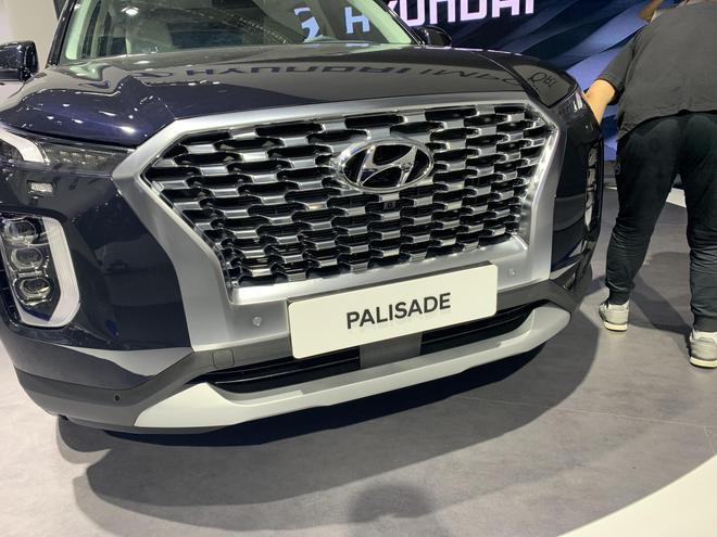 北京车展探馆:现代进口SUV帕里斯帝
