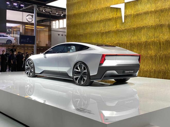 2020北京车展:GT跑车身材 极星Precept概念车亮相