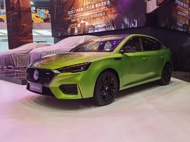 2020广州车展探馆:第三代MG6数字曼巴限量版亮相
