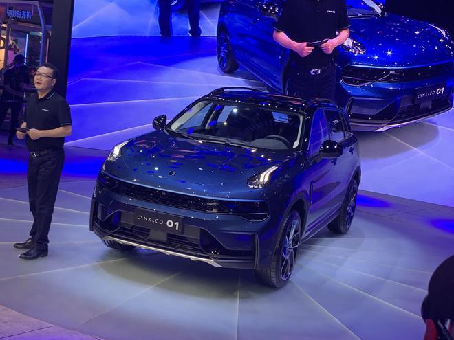 2020广州车展:领克01中期改款车型公布预售价18-20万元