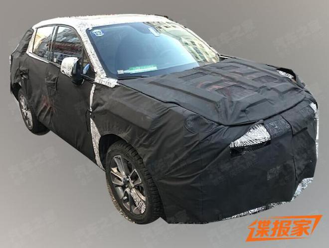 领克BX11测试谍照曝光 有望定位小型SUV