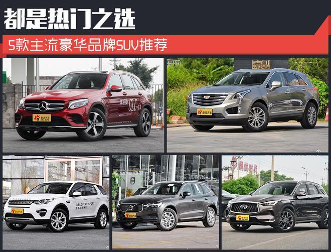 都是热门之选 5款主流豪华品牌SUV推荐