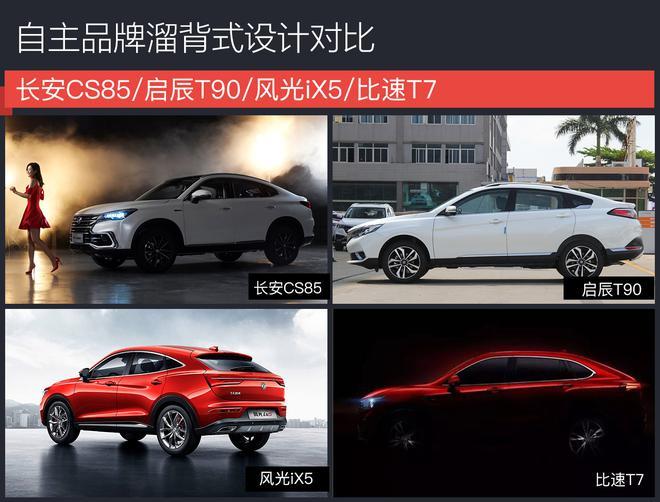 长安轿跑SUV CS85无伪谍照 有望广州车展发布