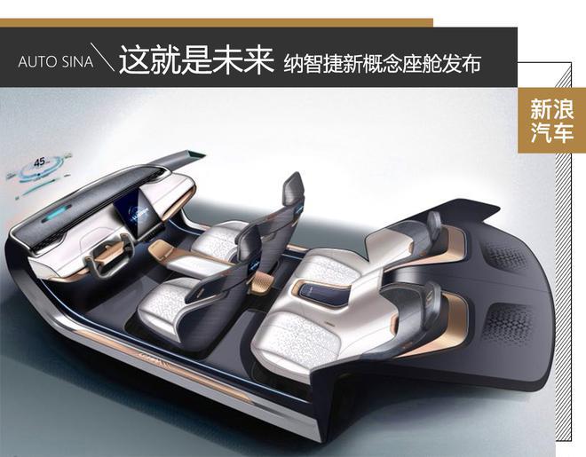 这就是未来 纳智捷新概念座舱发布