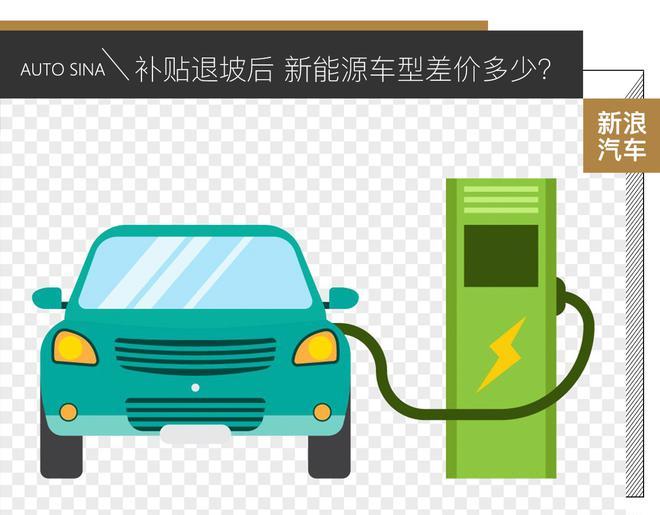 補貼退坡后 新能源車型將會差價多少?