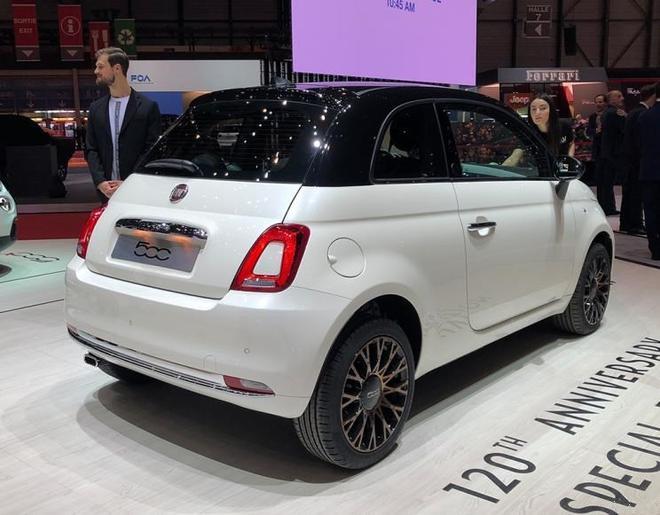 2019日内瓦车展:菲亚特500家族特别版发布