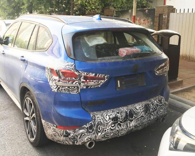 新款宝马X1车型路试谍照曝光 有望9月上市