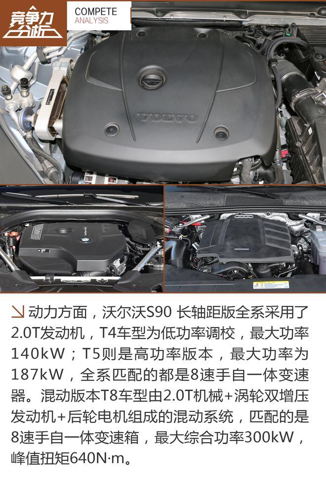 沃尔沃S90竞争力分析 惊艳的不止安全