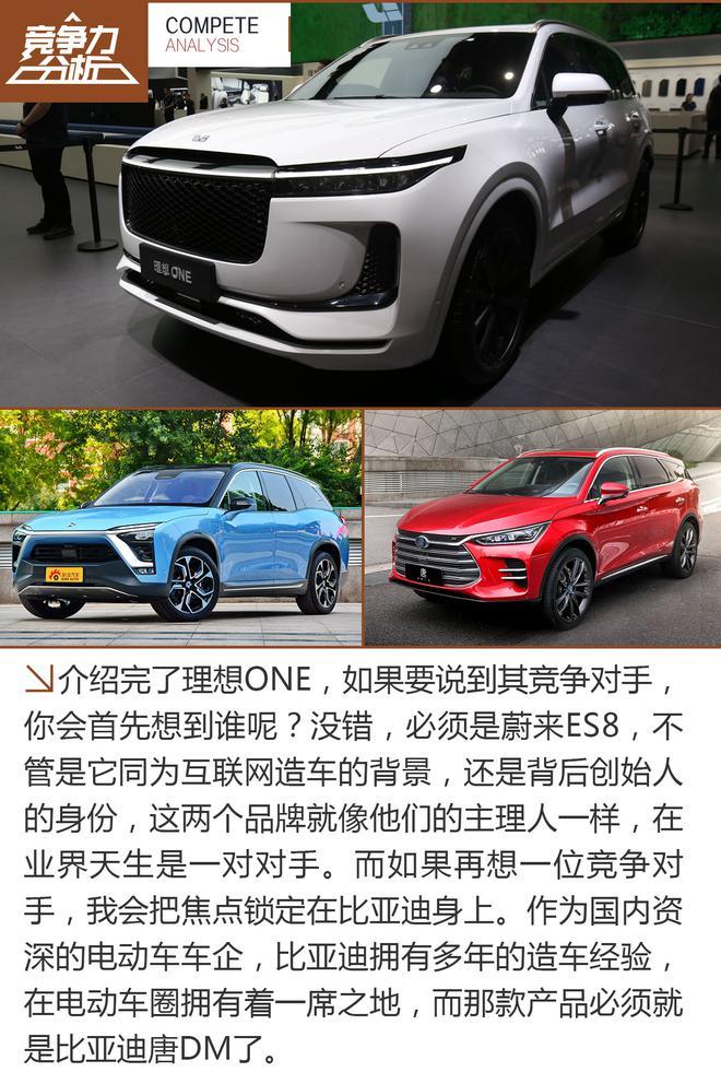 互联网造车の新军 理想ONE竞争力分析