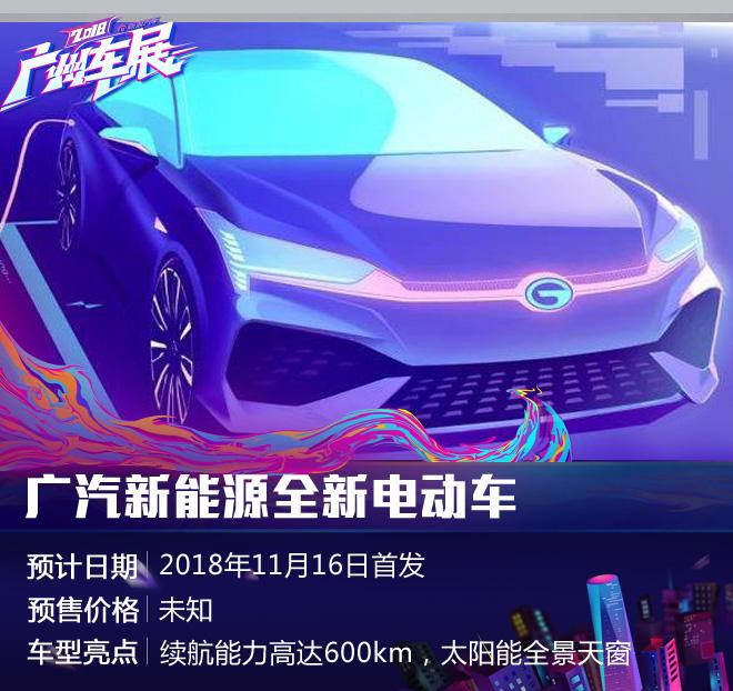 全力发展新能源 广州车展5款新能源盘点