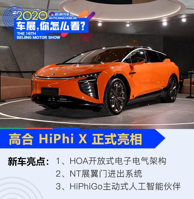 对标特斯拉Model X 高合HiPhi X北京车展亮相