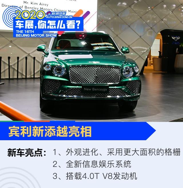2020北京车展:豪华再进化 新添越/飞驰等登陆车展