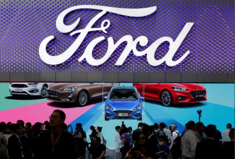 财报|福特2019年利润暴跌99% 中国市场运营亏损7.71亿美元
