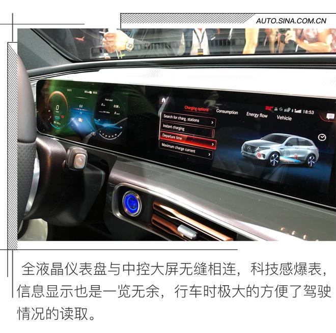 汽车发明者的新作品 奔驰EQC静态解析