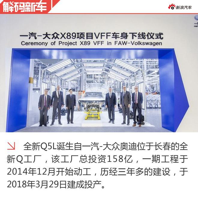 解码全新奥迪Q5L 为中国市场加码