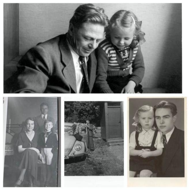 Erwin Komenda与女儿