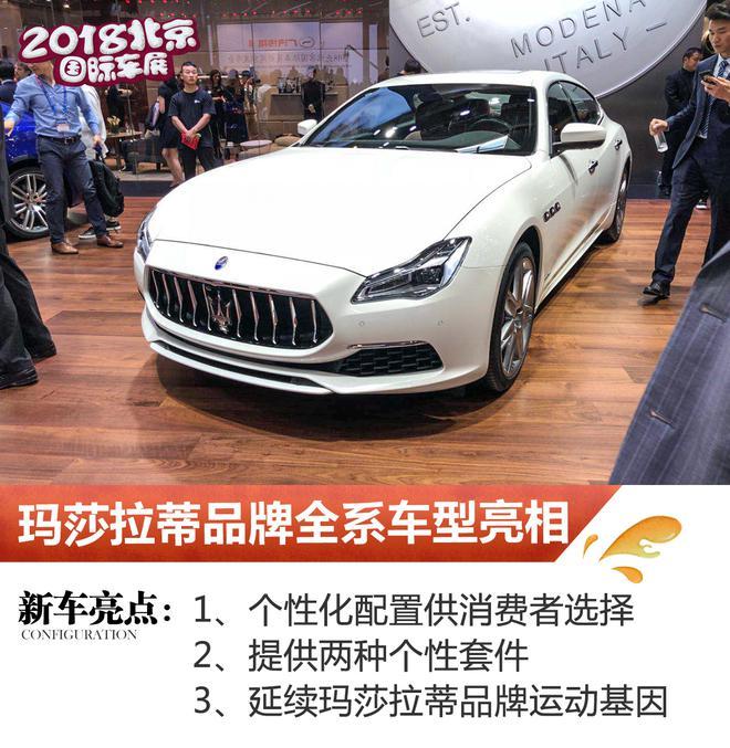2018北京车展:玛莎拉蒂品牌全系车型亮相