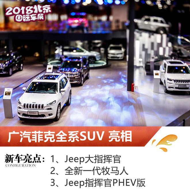 2018北京车展:广汽菲克全系SUV亮相