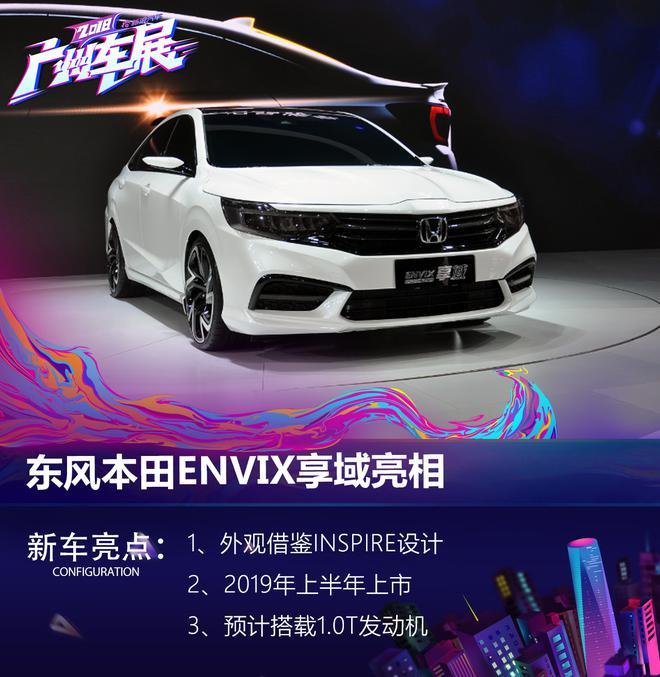 2018廣州車展:東風本田全新概念車命名享域