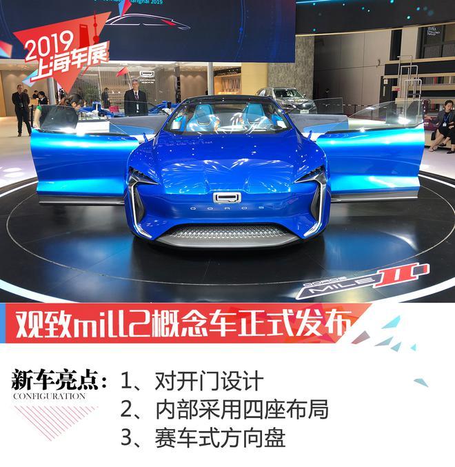 2019上海车展:观致mill2概念车正式发布
