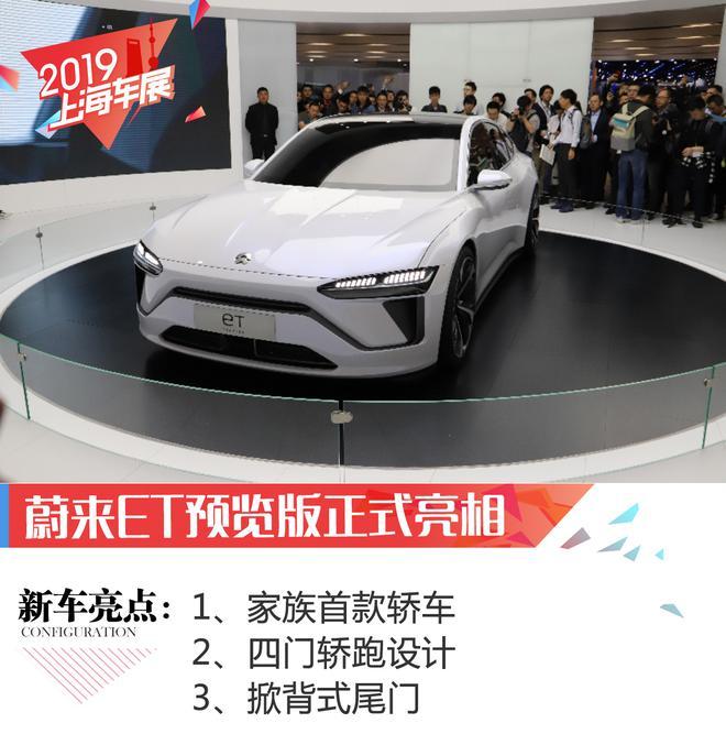 2019上海车展:蔚来ET预览版正式亮相